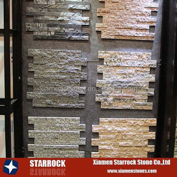 Natural Stone Rusty Interior And Exterior Decorative Brick Tile Slate Wall  Panel Ledge Stone Veneer