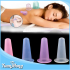 Hot Silicone Massage Vide Corps et Visage No 3 Tasse Anti Cellulite Ventouses ensembles