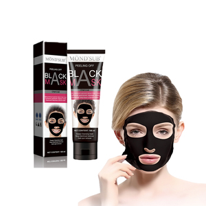 MOND'SUB Facial Face Head Removal Charcoal Peel Off Private Label Bamboo Black Mask