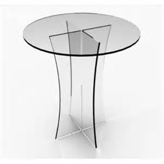 Ordinaire Pictures Of Custom Made Acrylic/plexiglass Round Table Top,high Quality  Clear Acrylic Round Dining Table Top