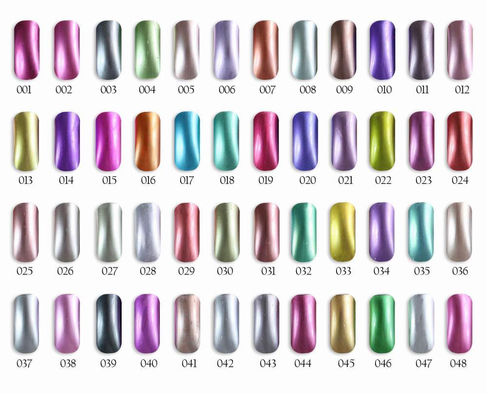 6pcs Florales Metallic Gel Polish 15ml 48 colors for choice Feifan