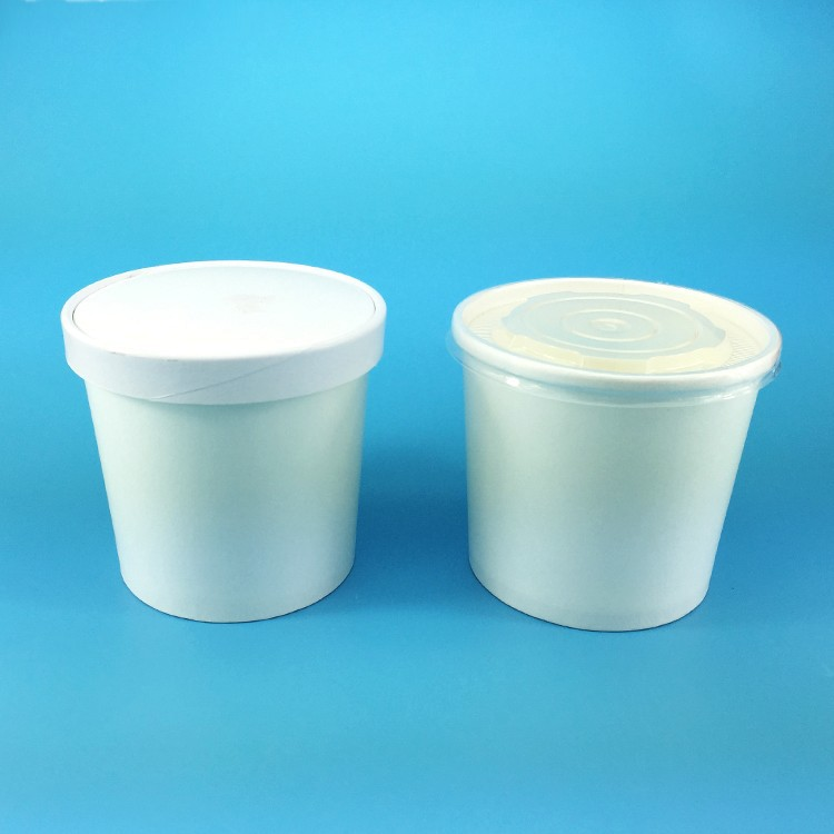 Disposable 12oz Made In China Take Away Paper Soup Bowl With Lid ...