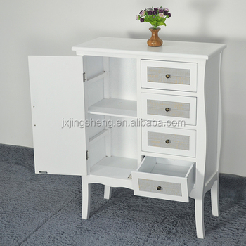 Asian Style Tall Storage Cabinets With Doors Solid Wood And Mdf Material Small Bedside Table Cabinet Many Drawers