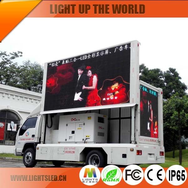 Led Mobile Advertising Vehicle P10 Outdoor LedProjector Mobile Advertising