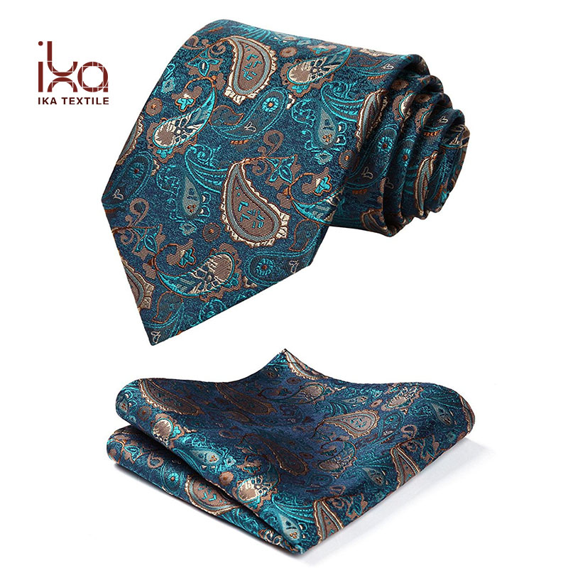 2017 New High Quality Mens Jacquard Paisley Woven OEM Custom Silk <strong>Tie</strong>