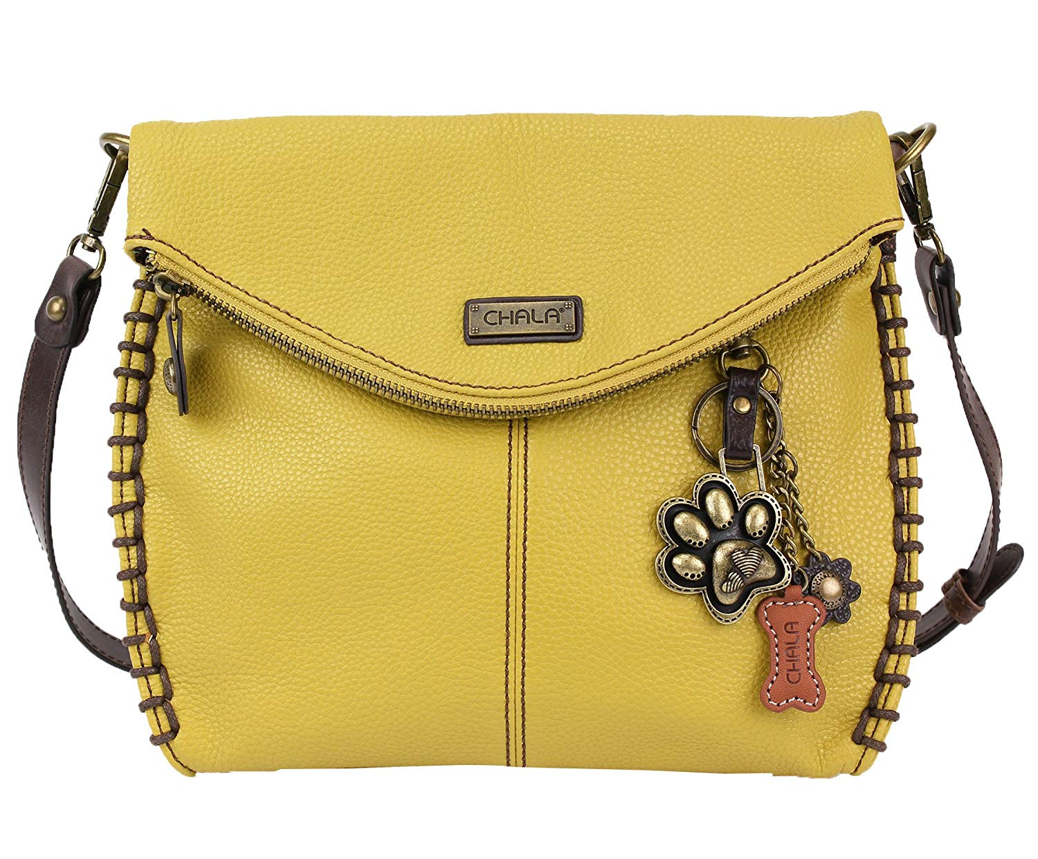 64ade437e5b4 Chala Charming Crossbody Bag With Flap Top