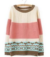 Wool Sweater Design For Girl Argyle Sweater For Girl