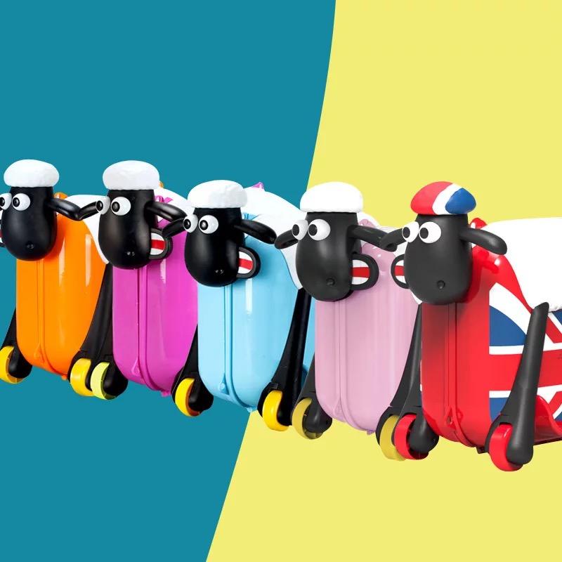 Baby Ride On Kids Luggage Custom Cute Kid Suitcase - Buy Baby Ride ...