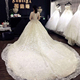 Latest Design Muslim Dress Long Cathedral Train Vestidos De Novia Wedding Dresses China With Lace