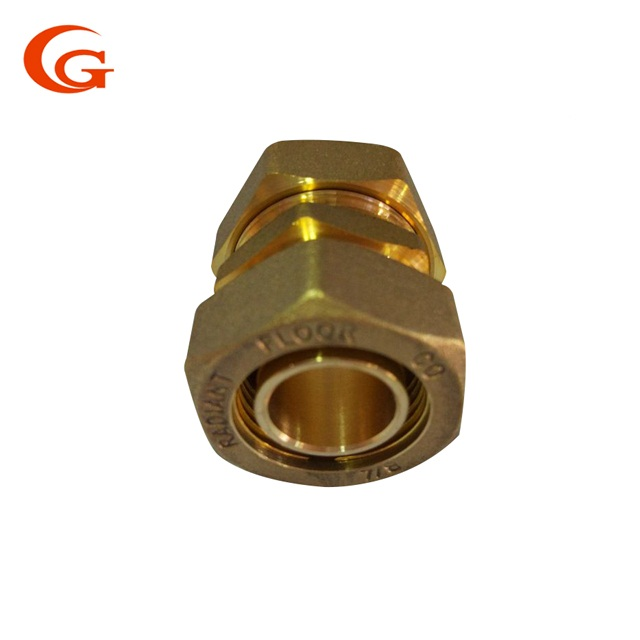 brass Ferrule Type Double Ferrule Compression <strong>Fitting</strong> /Tubing Connectors