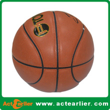 microfiber pu leather regular basket balls size 7