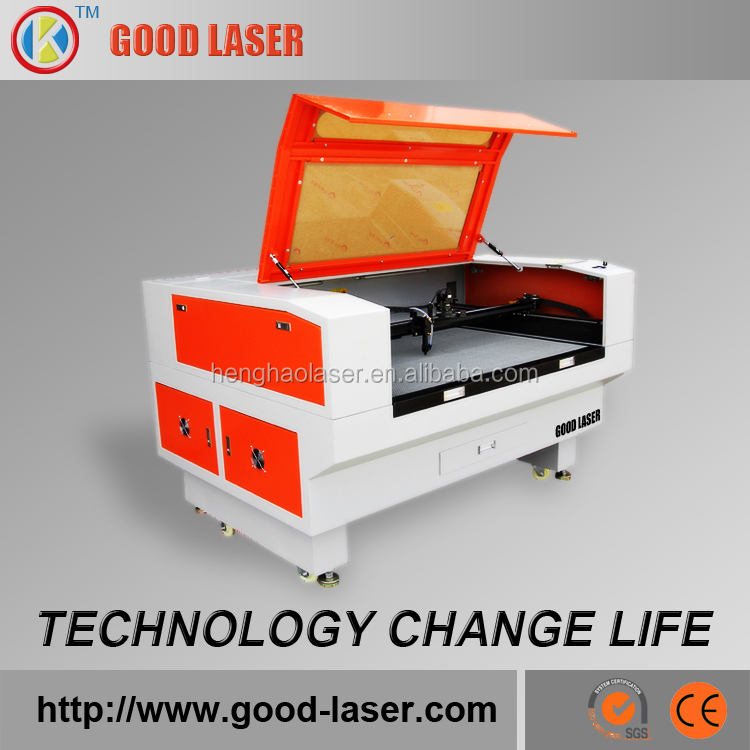Top Quality High Precision CO2 Laser 80w 1400*800mm Brand label Laser Cutting Machine For Sale