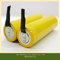 AA 800MAH 2.4V / industrial rechargeable nimh battery pack