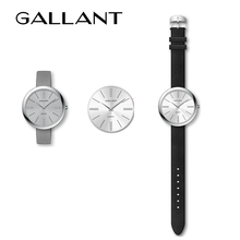 China factory analog slim minimalist brand watch for men and women