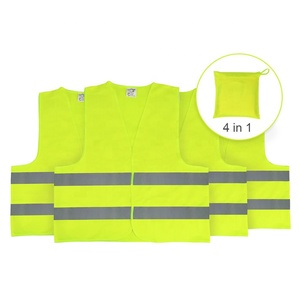 5cm*390cm high visibility reflective tape safety reflective vest,yellow reflective safety vest