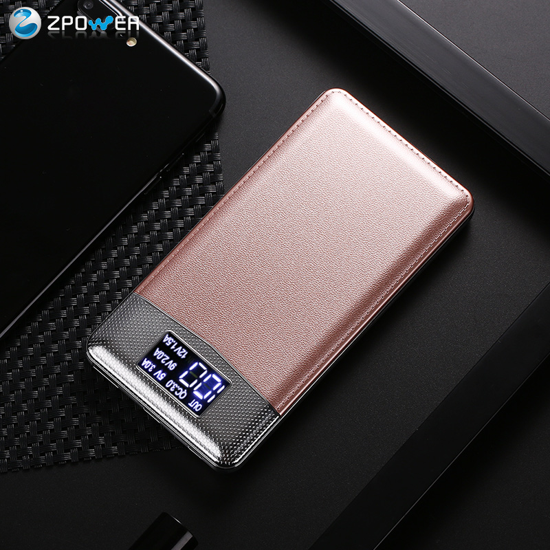 Mobile phones all brands 10000mah quick charger menu power bank for iPhone