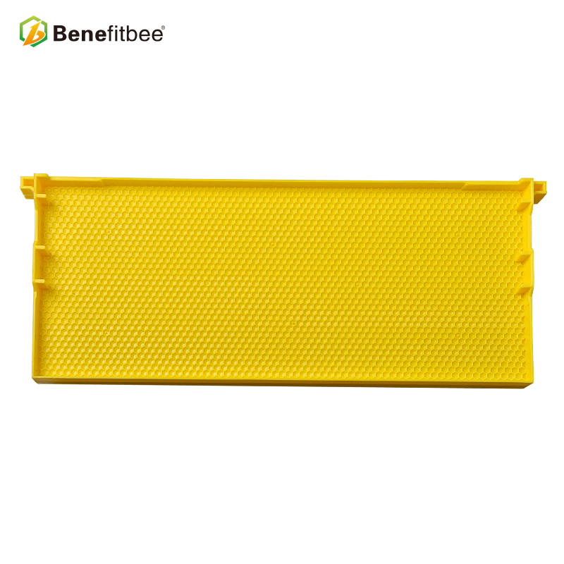 Beekeeping tool Plastic Frame yellow Bee Comb Frame with Foundation  Beehive different size/color