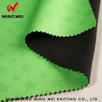 Free samples fancy soft shell suit fabric with high quality