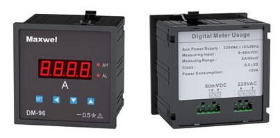 Digital ac voltmeter dc voltage meter