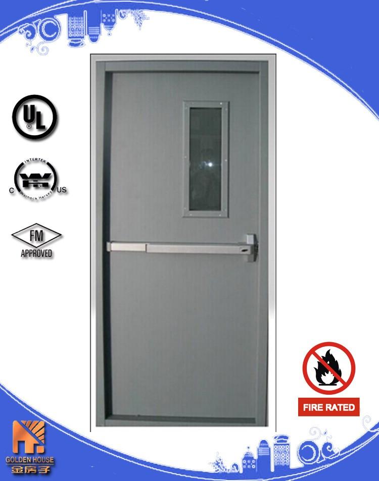 Ul Listed Steel Fire Door With Warnock Hersey Intertek