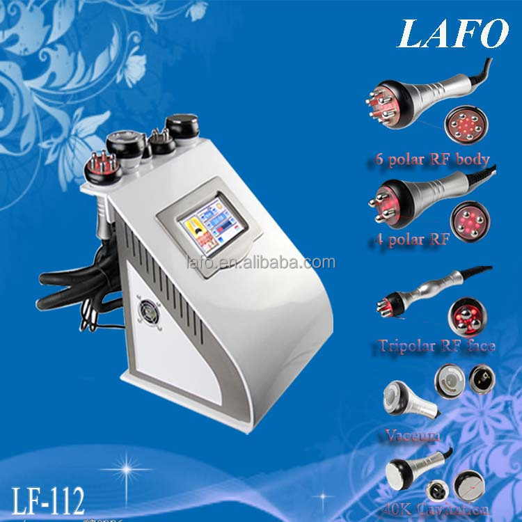 latest slimming machine vacuum tripolar rf cavitation