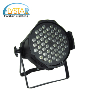 High quality stage lighting wash 54x3w rgbw dmx indoor led par 64