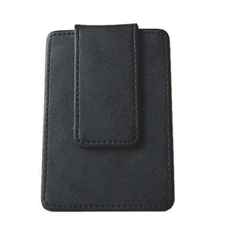 Oempromo Men Leather RFID Money Clip Magnet Credit Card Holder