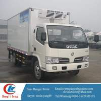 Refrigerator Freezer Cargo Van High Quality Refrigerated Small Trucks 3 Tons Refrigerated Cargo Trailer Sale