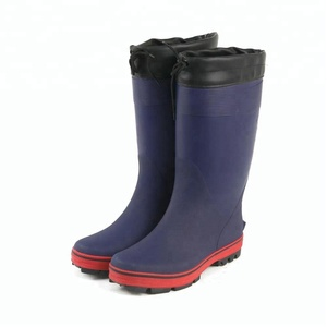 Rubber Winter Mining Safety Boots