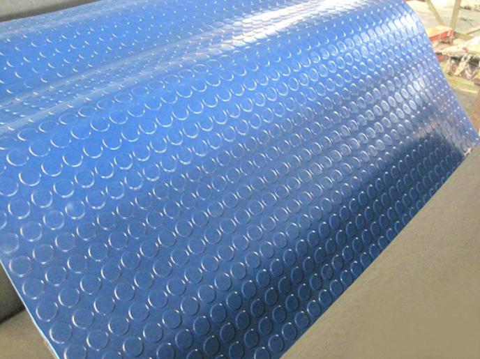 Round Stud Rubber Floor Mat Anti Slip Rubber Matting Small