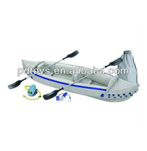 High quality 2-Persons Inflatable Rowing Canoe with Oars