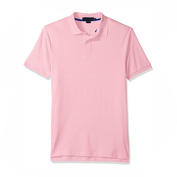 OEM Brand Wholesale Clothing Men's Solid Interlock Short-Sleeve Polo Shirt Men Dyed Original Polo