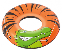 New Design Bestway 36108 River Gator strip swimming ring