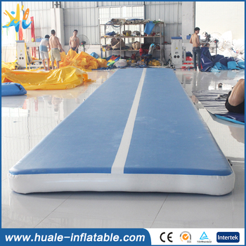 Double Wall Fabric Inflatable Gym Air Track/air track gymnastics/tumble track inflatable air mat for gymnastics
