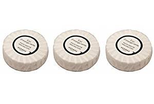 3 Hermes Eau d'Orange Verte Travel Sized Bath Soaps Individually Wrapped 8.5 oz (3 x 1.7 oz)