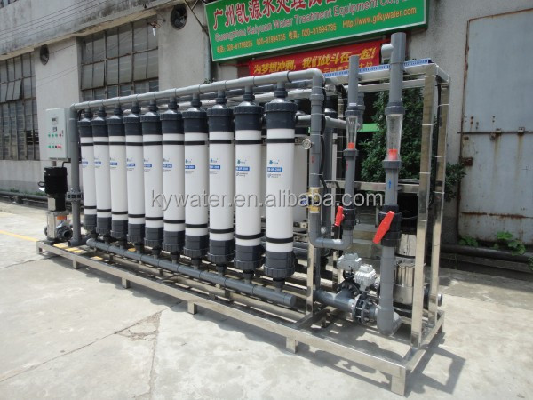 40,000L/H Backwash water pump Ultra filtration UF System with pretreatment