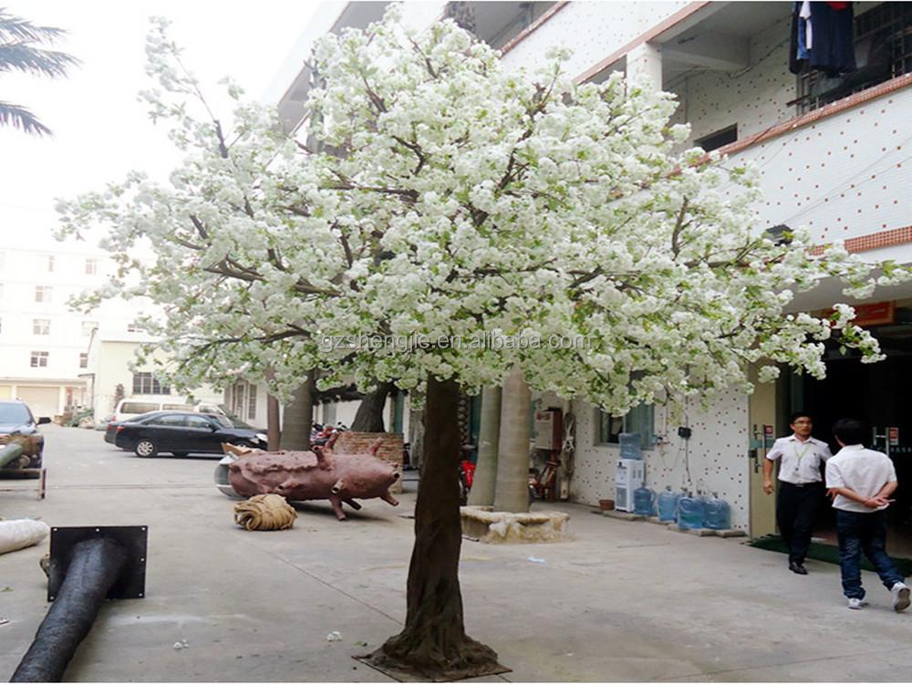 Künstliche Weiße Kirsche Blühenden Blumen Künstliche Bäume ...