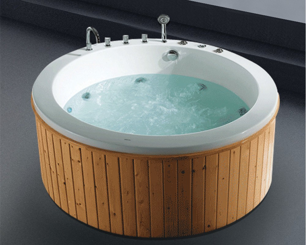 Best outdoor massage acrylic lowes walk in bathtub with for Best acrylic tub