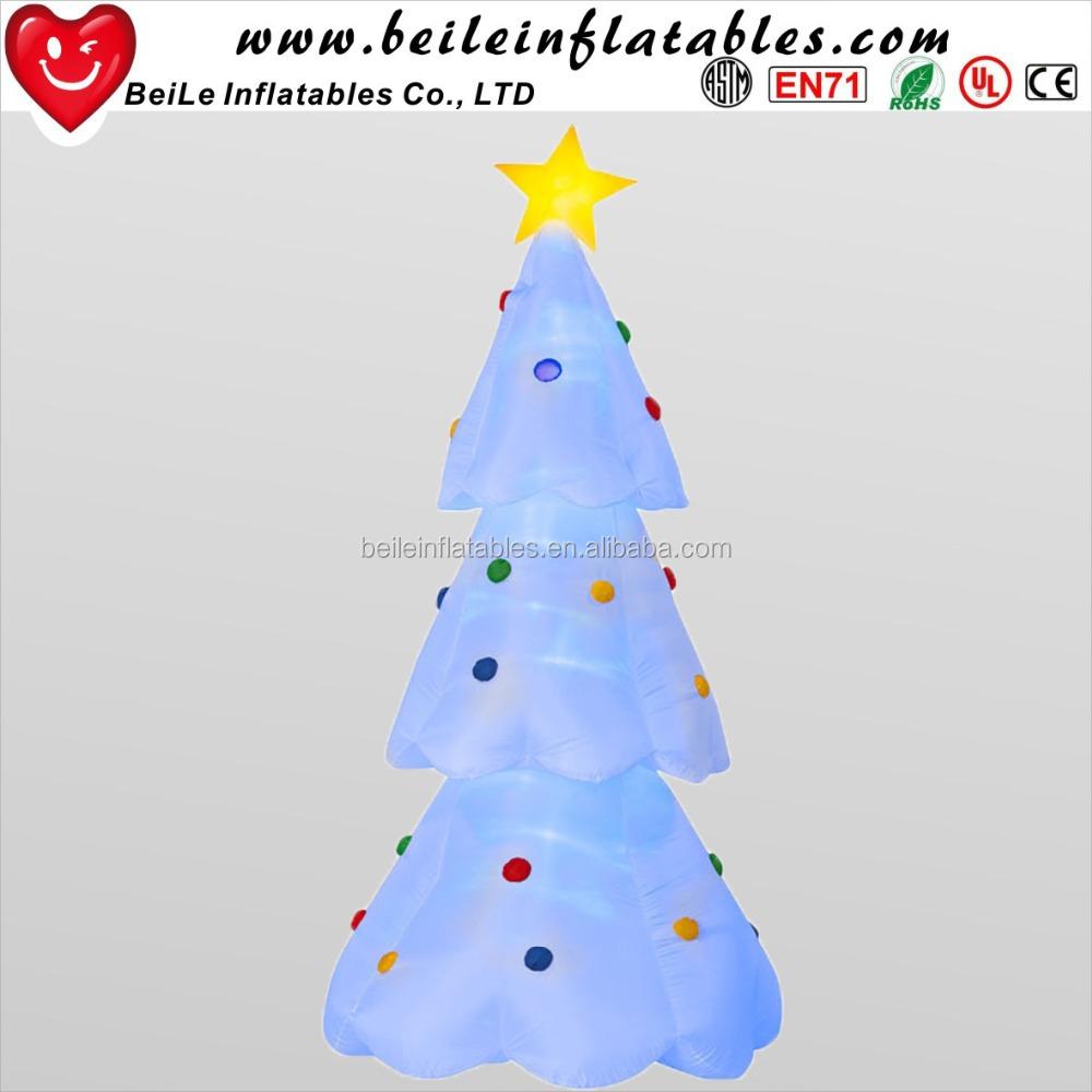 Beautiful White Led Inflatable Christmas