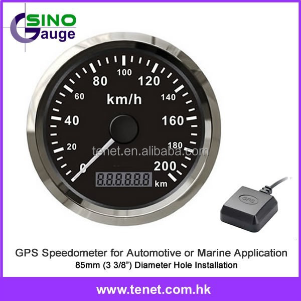 gps speedo 85 mm gps compteur de vitesse odom tre pour. Black Bedroom Furniture Sets. Home Design Ideas