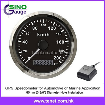Spiksplinternieuw Gps Snelheidsmeter 85mm,Gps Snelheidsmeter Kilometerteller Voor XM-37