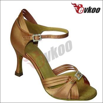 watch 61eda a2fe8 Evkoo Latin Dancing Shoes Brown Color Scarpe Da Ballo - Buy Scarpe Da  Ballo,Ballroom Dance Shoes Size 11,Cheap Latin Dance Shoes Product on ...
