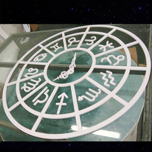 New wedding backdrop PVC constellation clock ornament events party supplie stage decoration