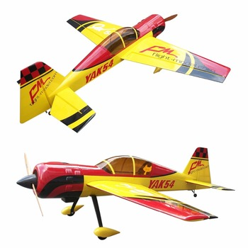 Wooden aircraft models yak 54 76 8 electric motor model for Model aircraft electric motors