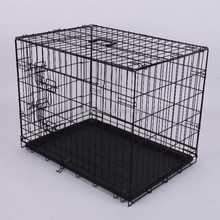 S.M.L.XL.XXL.XXXL Folding Metal Wire Pet Dog Crate Kennle House Cage