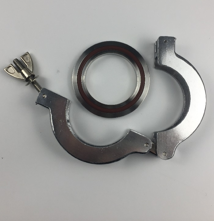 stainless steel 304 vacuum quick kf clamp