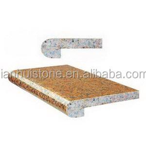 Laminat 1 1 2 Voll Bullnose Balitc Braun Festen Farbe Granit