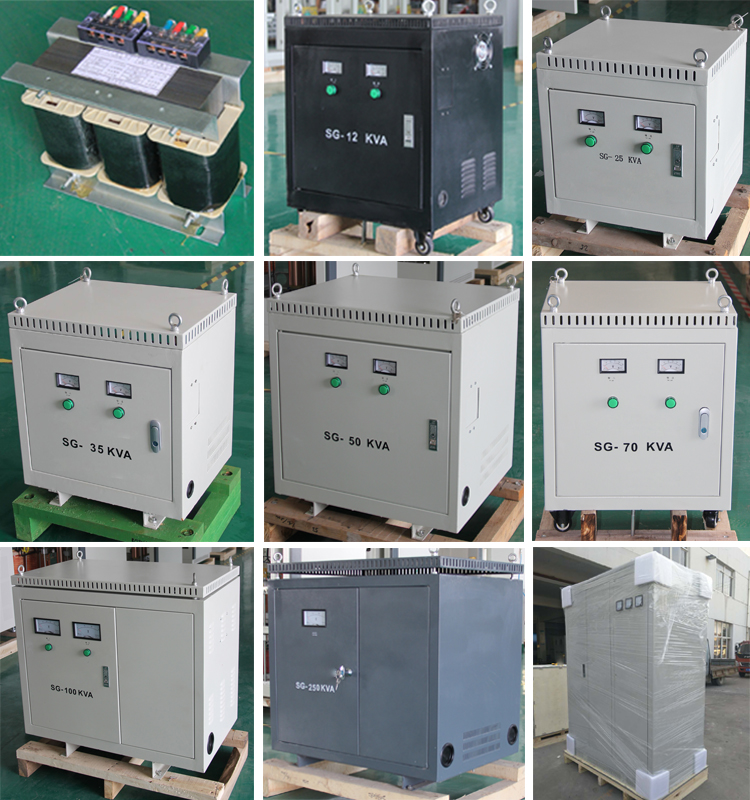 Step down transformer 380V 3PH 60 Hz
