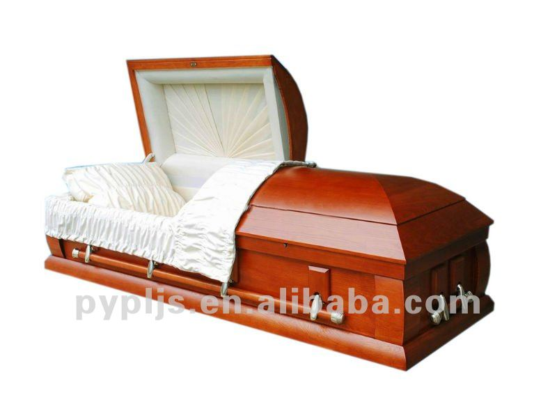 American style wood casket cremation coffin A-05