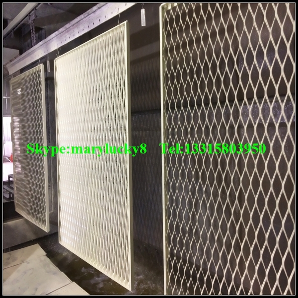 Expanded Metal Enclosure Screen/architectural Expanded Metal ...